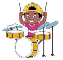 210x199 Boy Clipart Drum