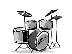 235x176 Drum Kit Clipart Collection