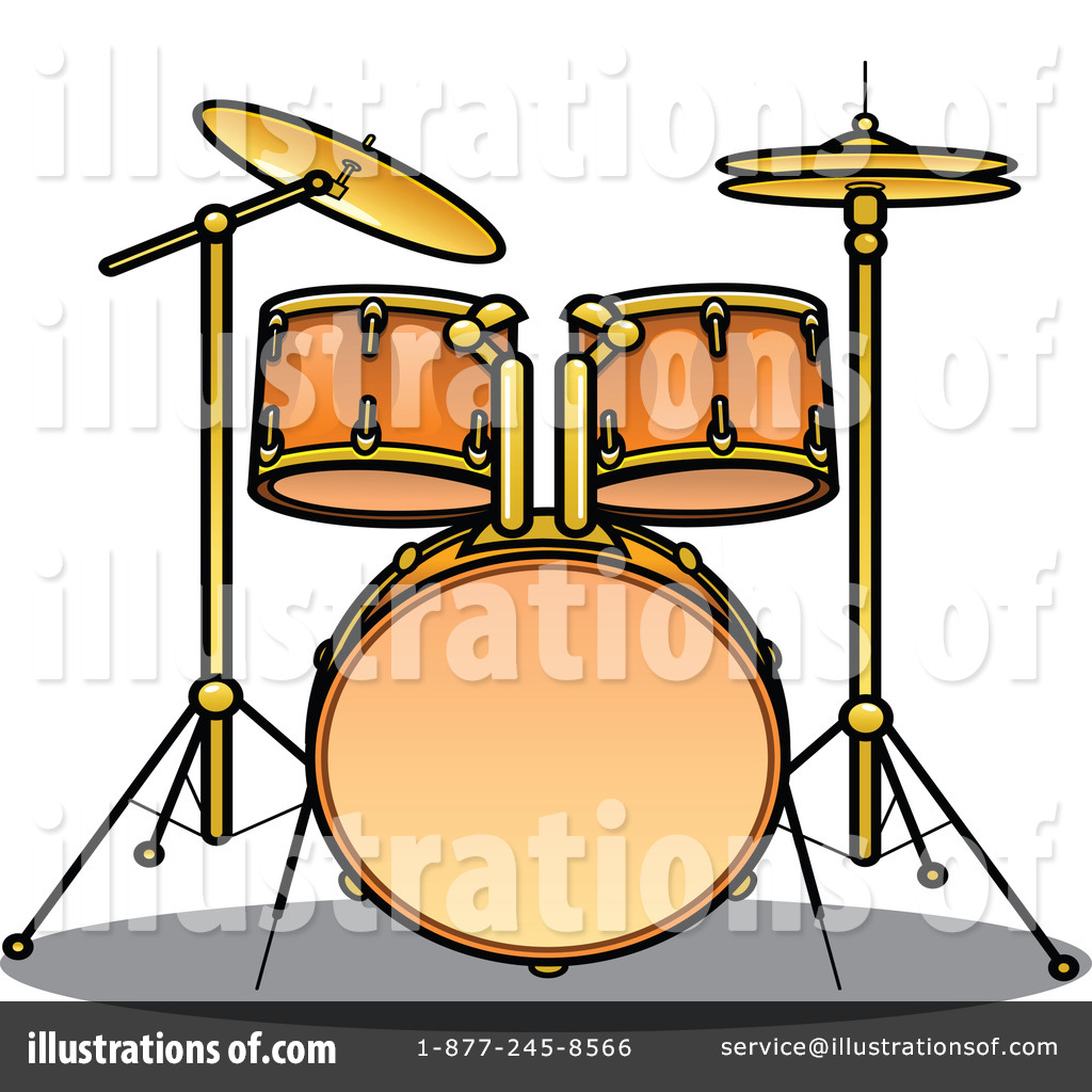 1024x1024 Drums Clipart