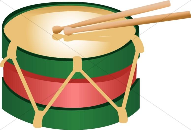 776x530 Little Christmas Drum Church Music Clipart