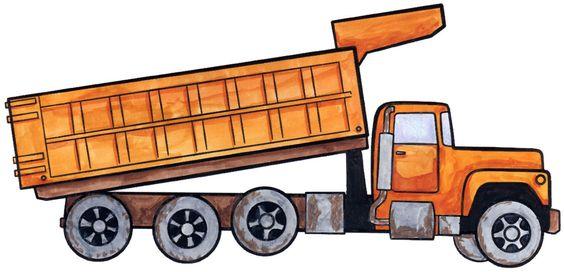 564x272 How To Draw A Dump Truck. Stuff For Walker Dump