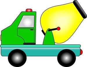 300x231 Construction Construction Dump Truck Clipart Image