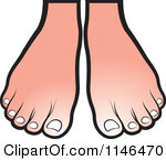 150x146 Feet Clipart Pair Feet