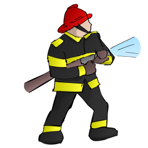 300x300 Fire Fighter Clip Art