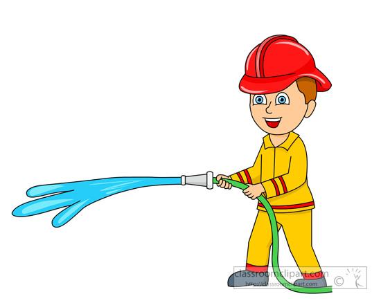 550x438 Firemen Clipart