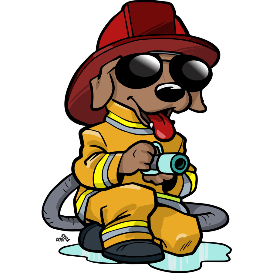 900x900 Cartoon Firemen Clipart