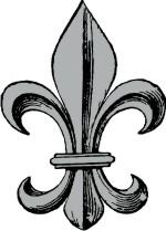 150x209 Fleur De Lis For Custom Coat Of Arms Amp Family Crest Clip Art