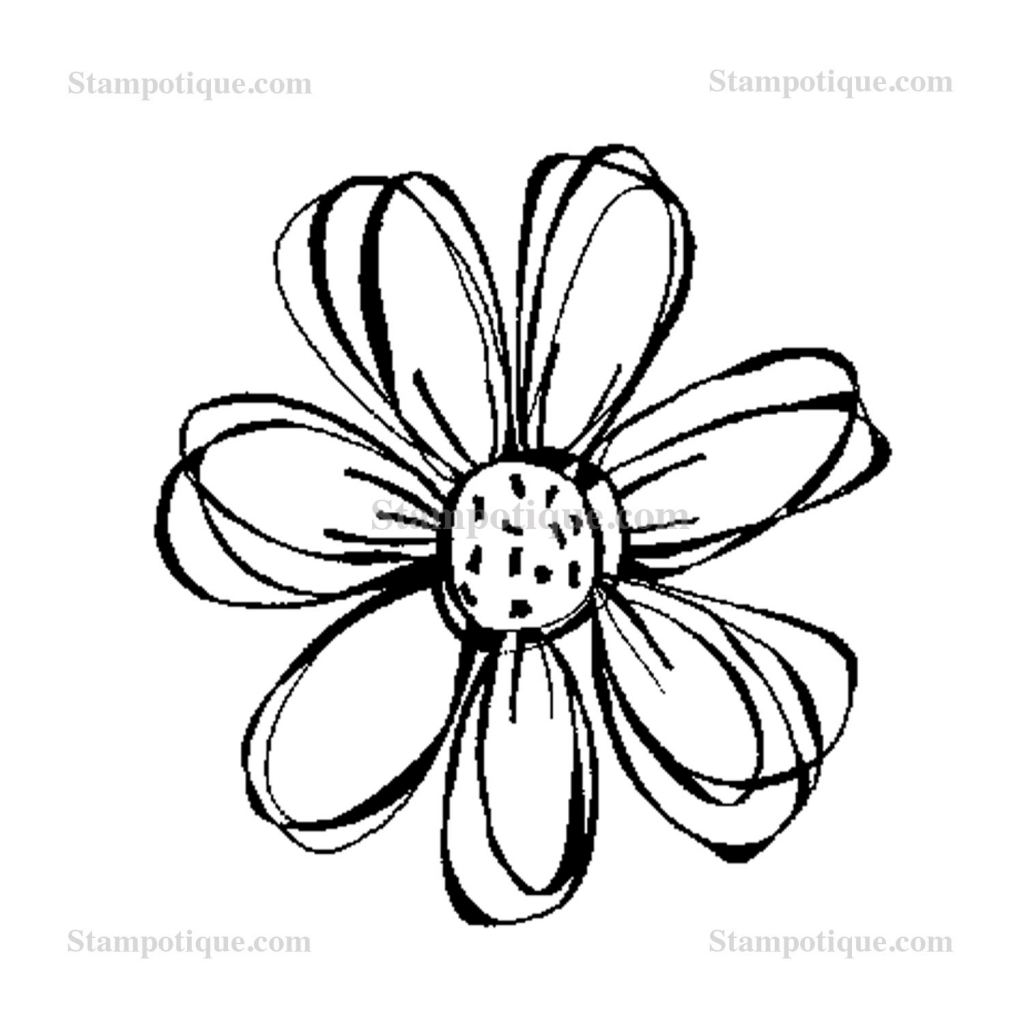 1024x1024 Small Flower Drawings