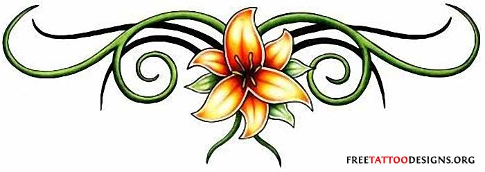 50c3c0efd Pictures Of Flower Tattoo Designs | Free download best Pictures Of ...