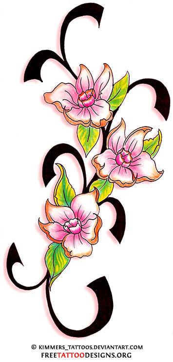355x740 Flower Tattoo Gallery 70 Flower Designs