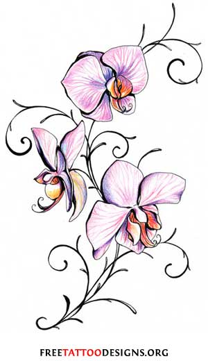 300x520 Flower Tattoos Floral, Lily, Lotus, Tropical, Sunflower Tattoo