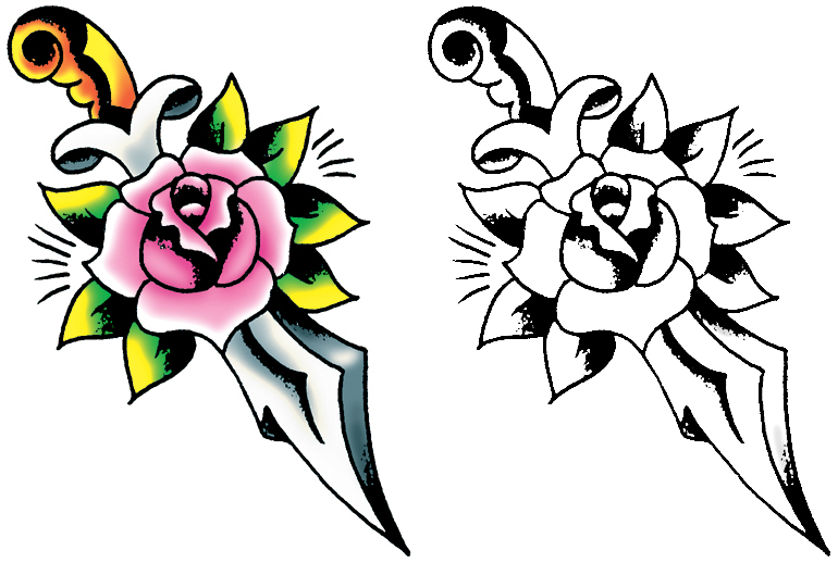 Simple Flower Tattoo Ideas: Pictures Of Flower Tattoo Designs