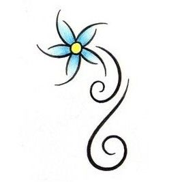 267x267 Flowers In Pencil Art