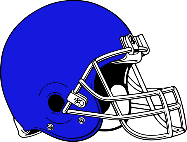 640x485 Football Helmet Clipart Blue