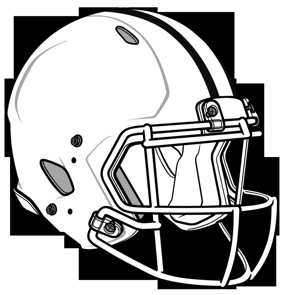 1001x1023 Football Helmet Clip Art Image