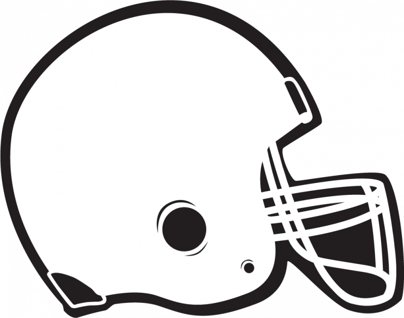800x630 Blank Football Helmet Clipart Kid