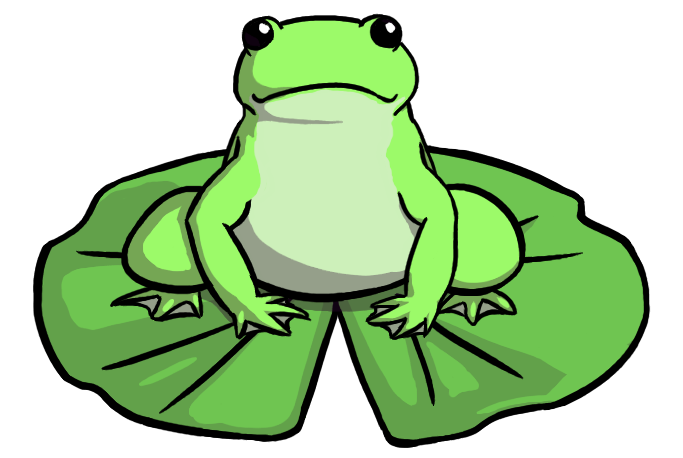683x458 Frog On Lily Pad Png Transparent Frog On Lily Pad.png Images