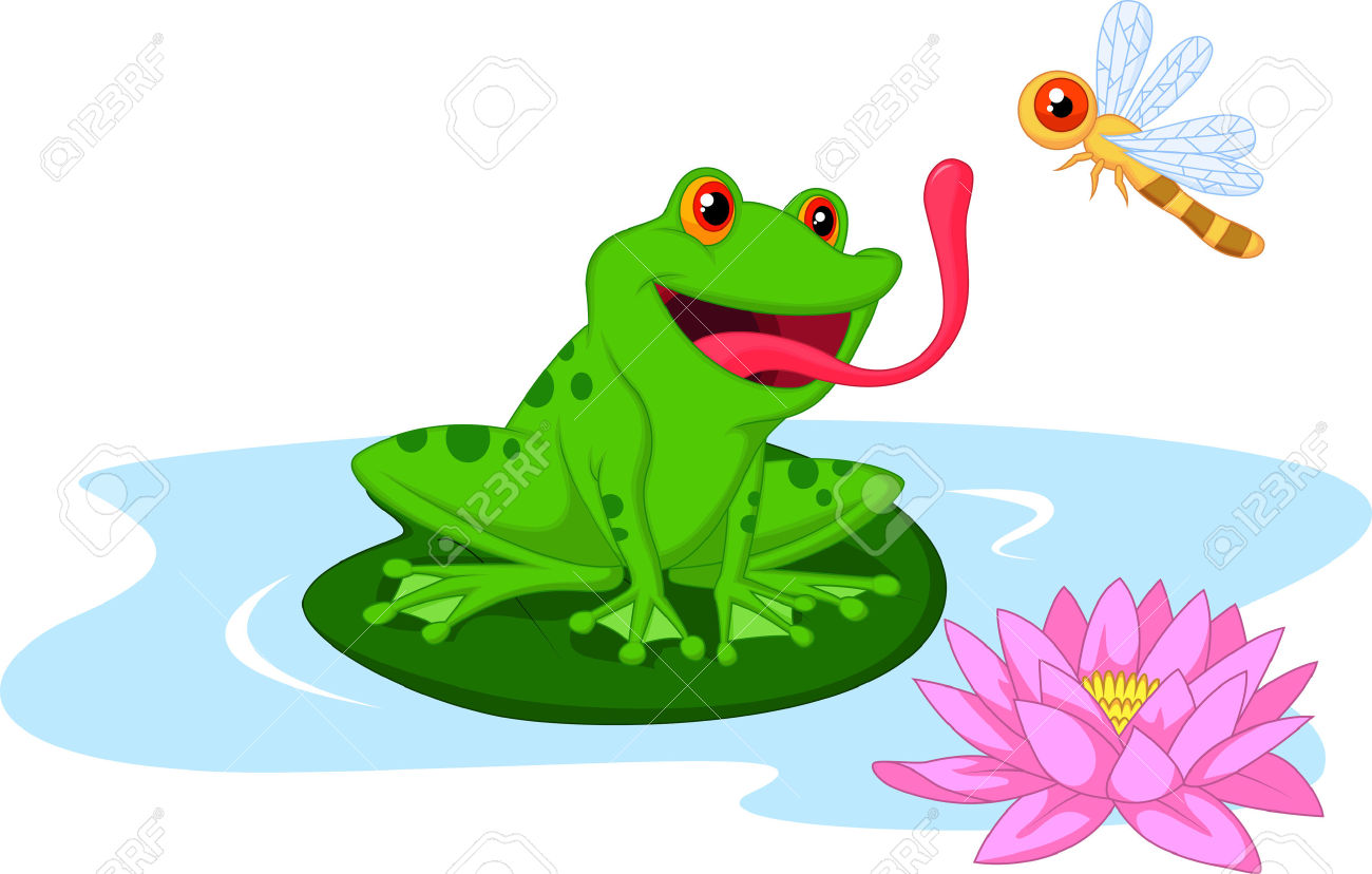 1300x828 Bugs Clipart Frog