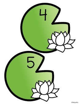 270x350 and Lily Pads Counting Center and Printables 0 10 Preschool