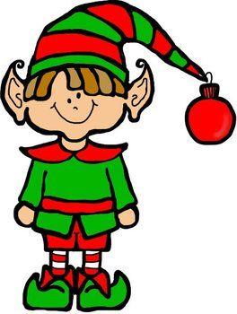 264x350 Cute Girl Elf Clipart