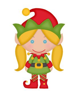 278x320 Elves Of The Helping Santa Clip Art. Christmas