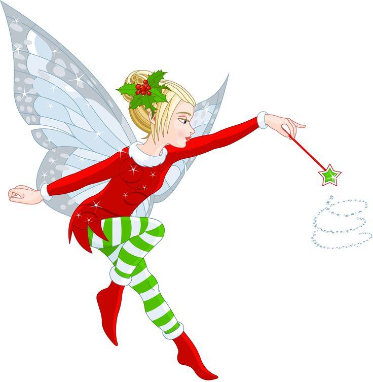 736x753 Girl Christmas Elf Clipart