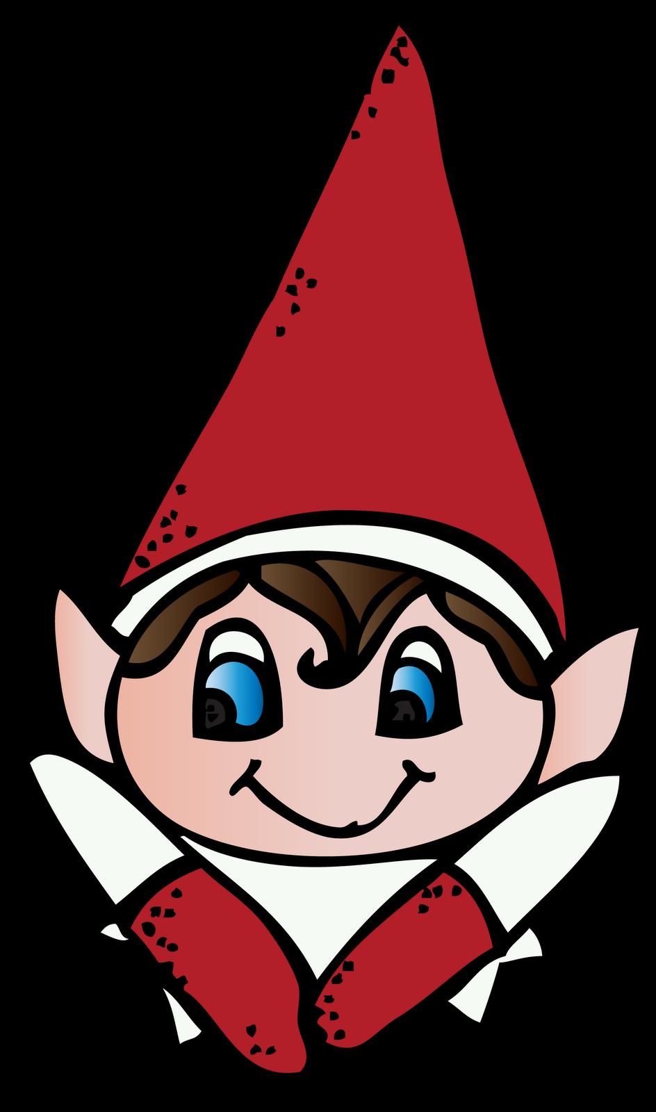 944x1600 Girl Elf On The Shelf Clipart