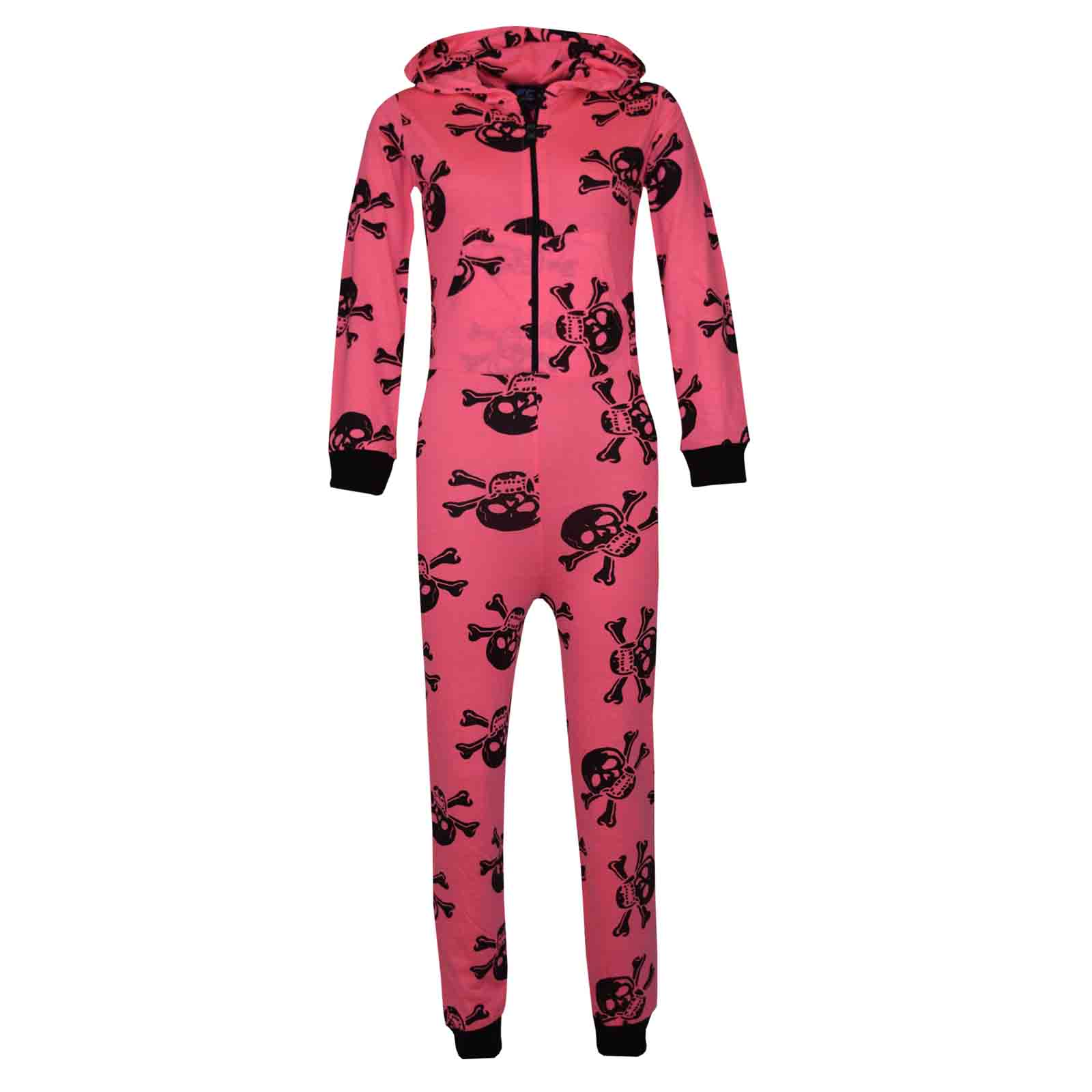 1600x1600 Kids Girls Boys Skull Amp Cross Bone A2z Onesie One Piece All In One