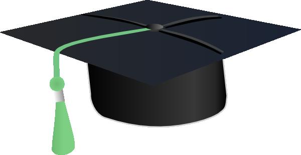 600x310 Graduation Hat Cap Clip Art