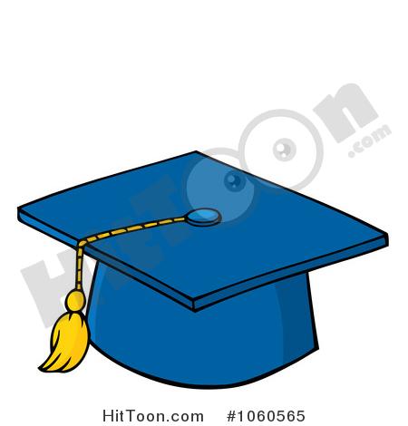 450x470 Blue Graduation Cap