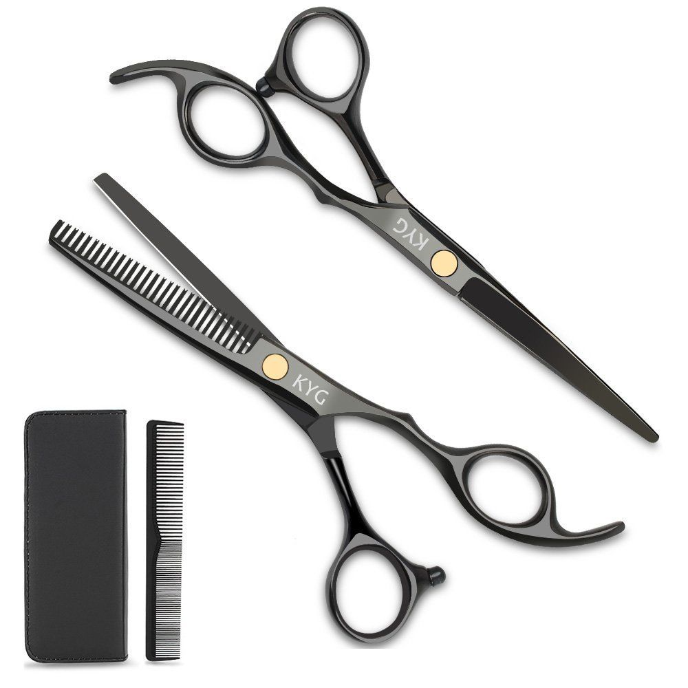 1000x1000 Kyg Professional Hair Scissors Set For Cutting And Luxurious