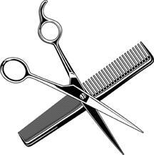 216x218 Pink Hair Clipart Shears