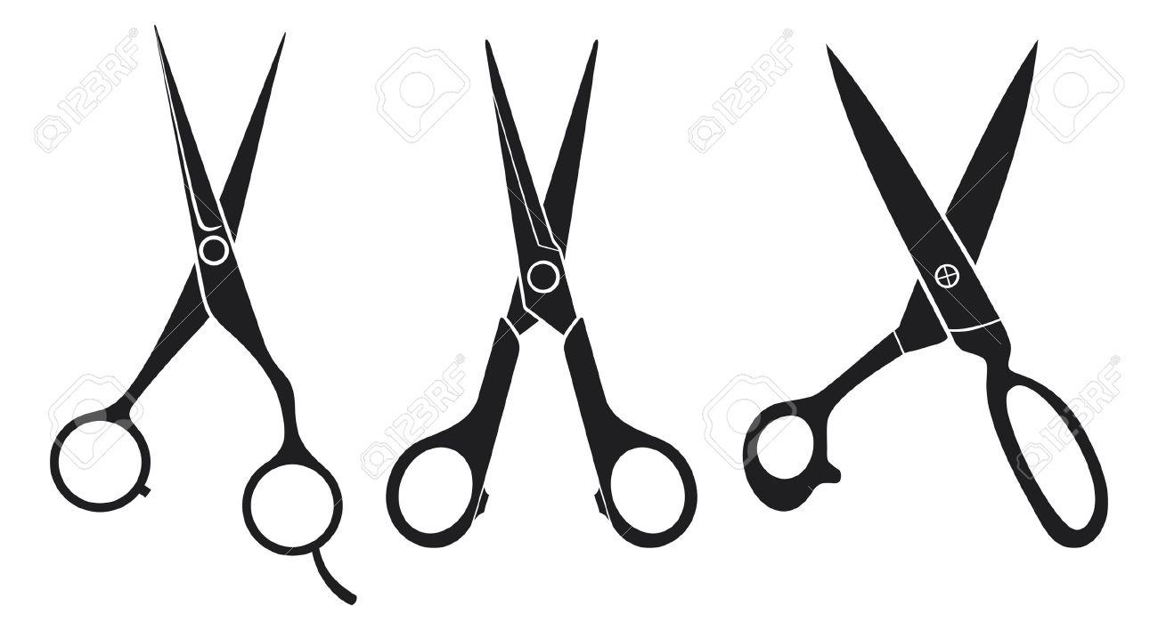 1300x708 Scissors Set Scissors Collection Royalty Free Cliparts, Vectors