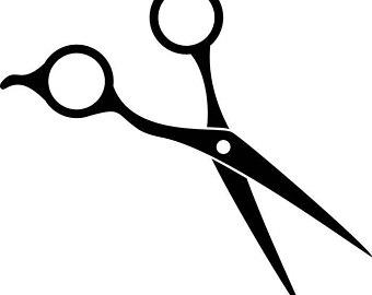 340x270 Scissors Hair Clip Etsy