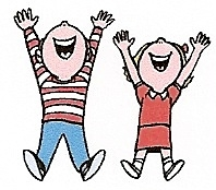 198x174 Kids Having Fun Clipart