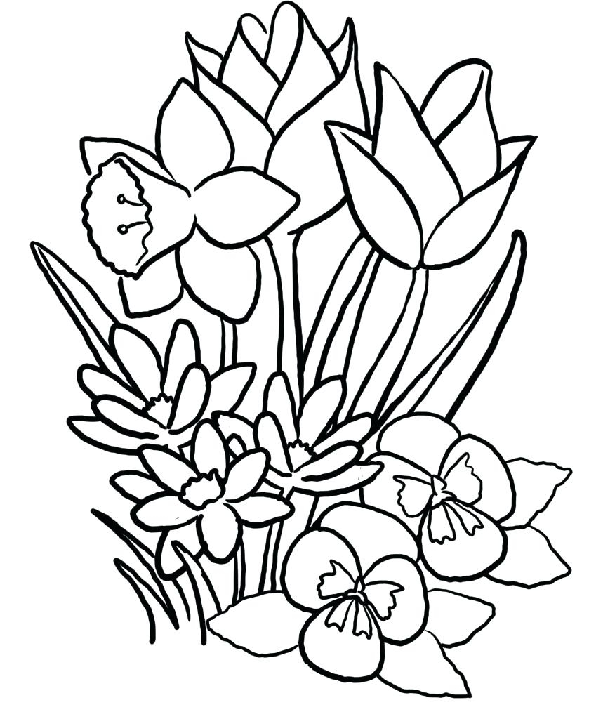 849x1024 Flowers And Heart Drawings Drawing Of Hearts Free Download Clip