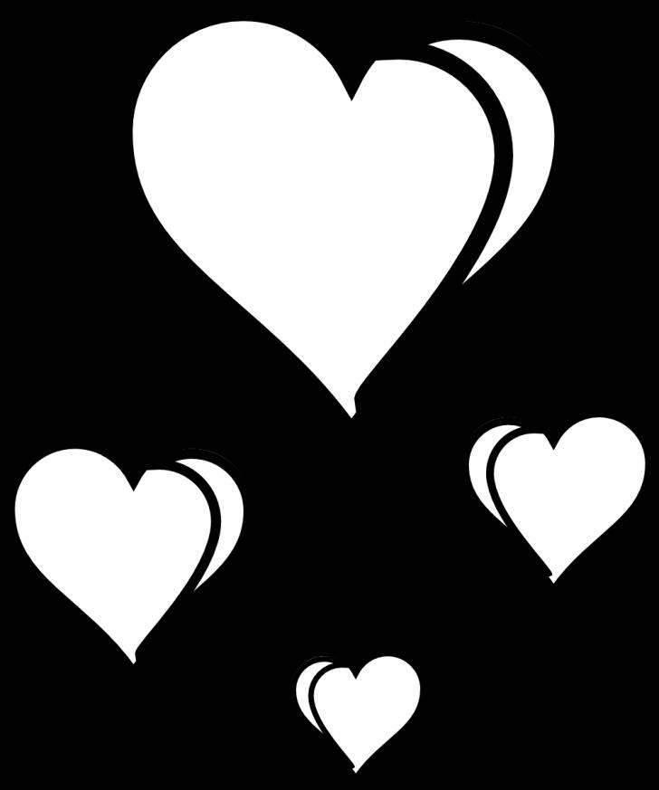 728x873 Valentine ~ Hand Drawn Heart Sketch Design For Valentine Royalty