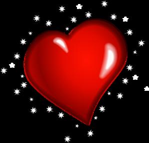 298x285 Heart Stars Clip Art