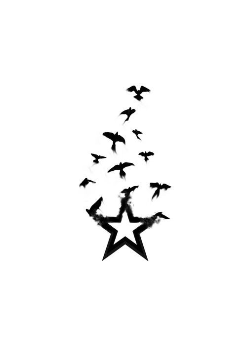 500x707 Stars And Hearts Tattoo Designs Group