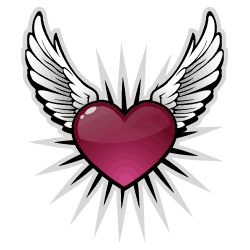 250x250 Heart With Wings Sweet Tattoos And Ideas Tattoo