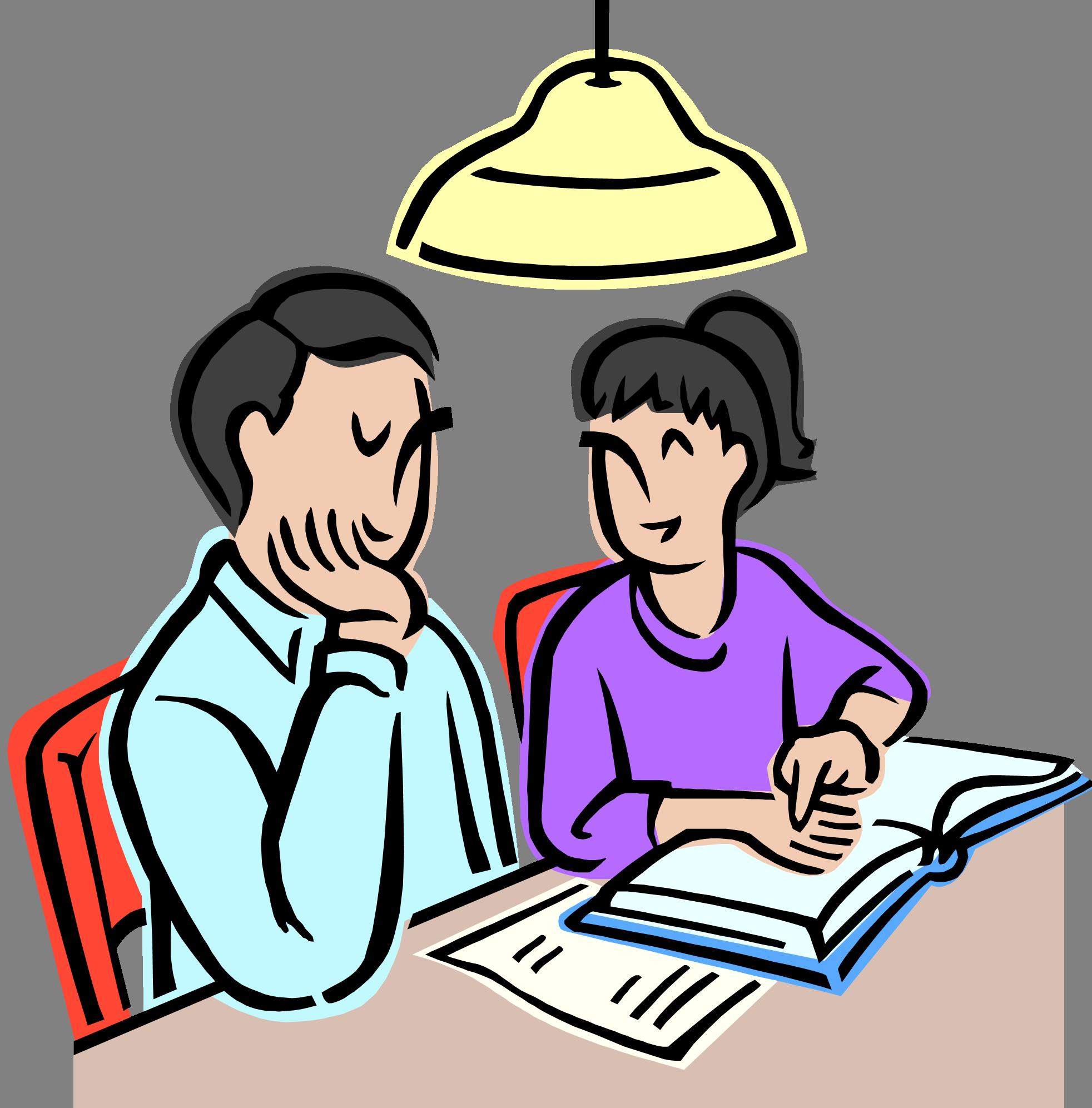 1964x1993 Study Homework Clipart