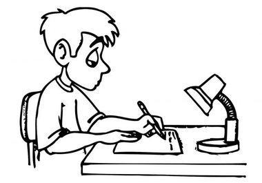 380x265 Turn In Homework Clipart