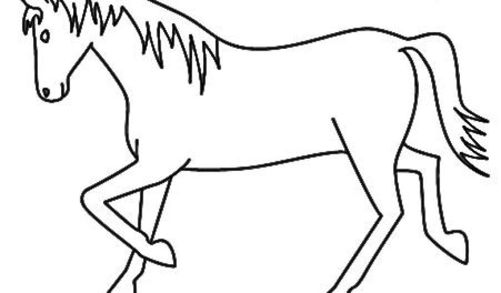 1024x600 Horse Drawing For Kids Easy Horse Drawings For Kids Images