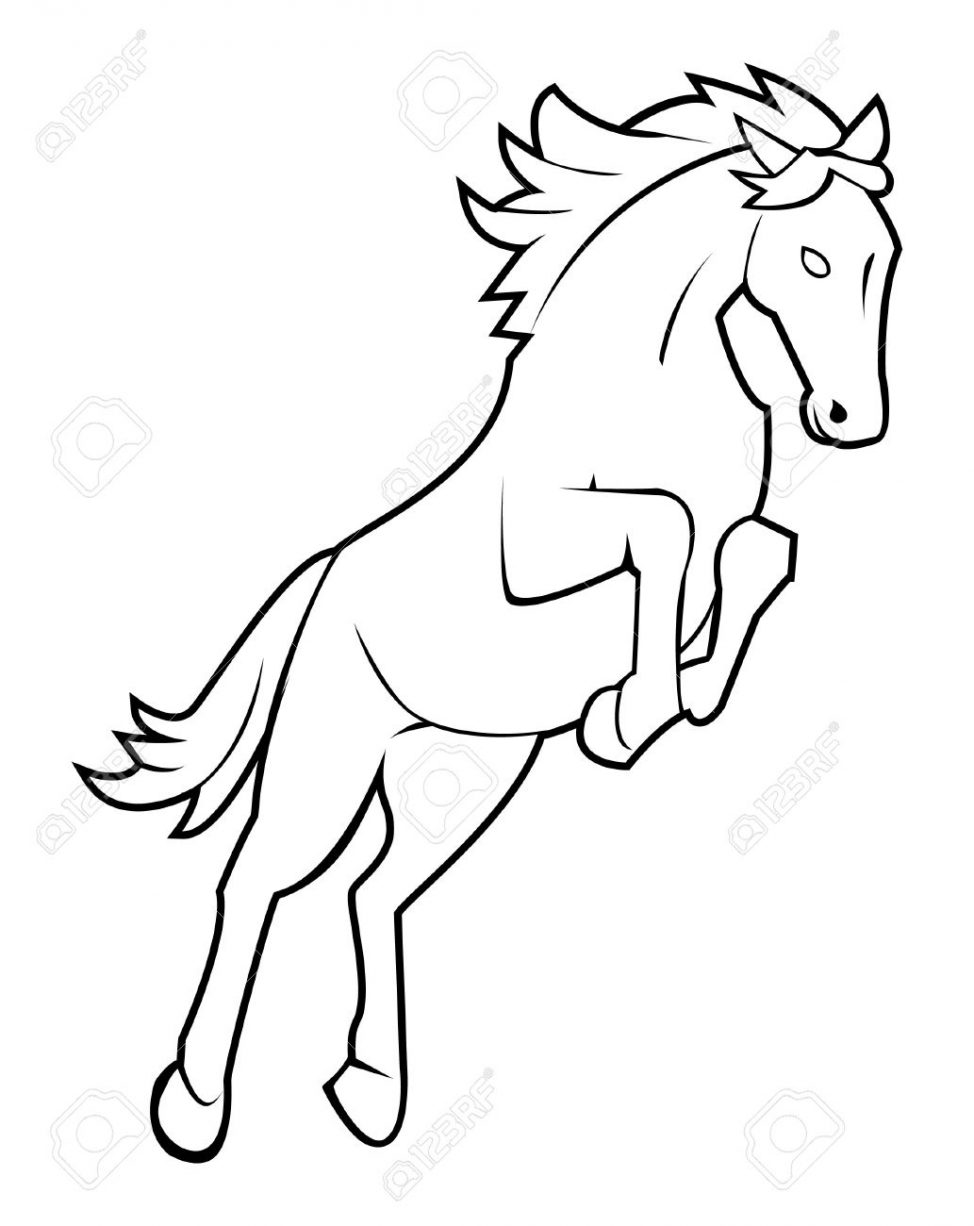 974x1226 Mustang Horse Drawings Drawn 11 Coloring Pages Mustang Horse
