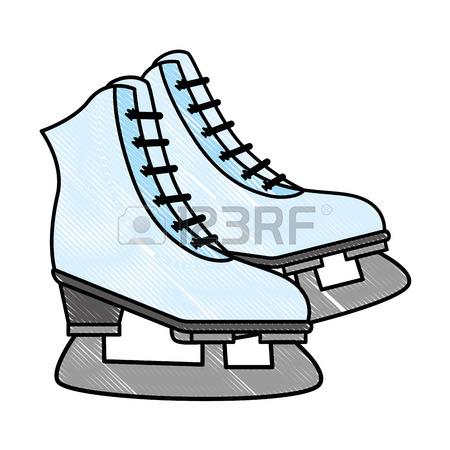 450x450 2,090 Ice Skate Shoe Cliparts, Stock Vector And Royalty Free Ice
