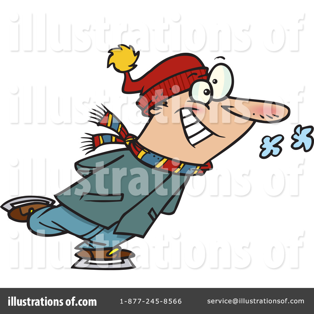 1024x1024 Ice Skating Clipart