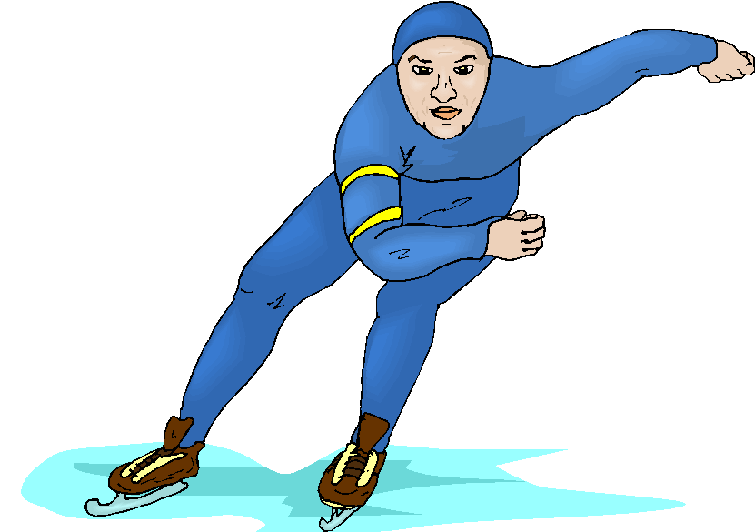 831x585 Ice Skating Free Clipart