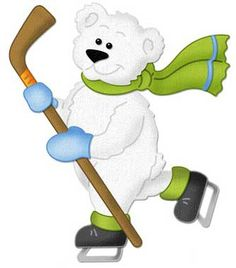 236x268 Polar Bear Clipart Ice Skating