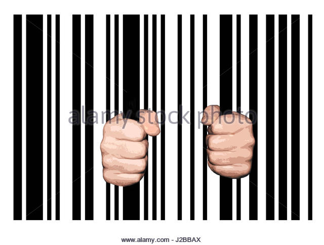 640x483 Illustration Hands Holding Jail Bars Stock Photos Amp Illustration