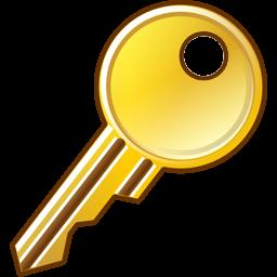 256x256 Key Icon Security Iconset Aha Soft